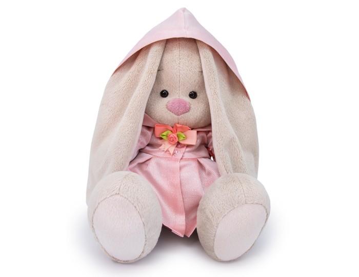Картинка для Мягкие игрушки Budi Basa Зайка Ми в розовом плаще 18 см