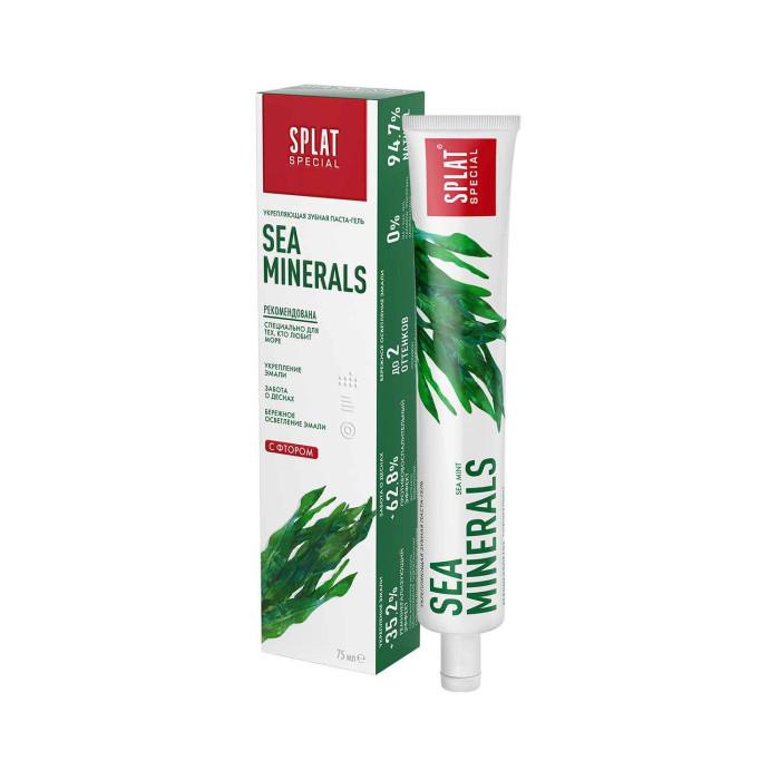 Гигиена полости рта Splat Special Зубная паста Морские минералы 75 мл гигиена полости рта logona logodent травяная гелевая зубная паста с мятой 75 мл