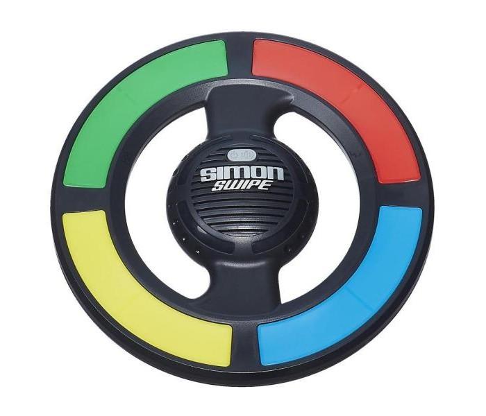 Электронные игрушки Hasbro Электронная игра Саймон Свайп hasbro gaming электронная игра саймон свайп hasbro gaming