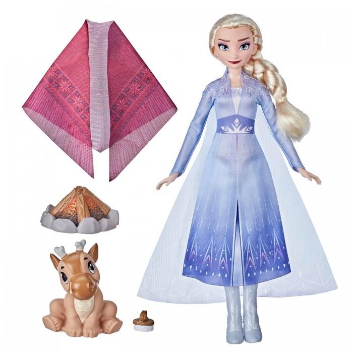 Куклы и одежда для кукол Disney Princess Набор игровой Frozen Холодное Сердце 2 Эльза у костра