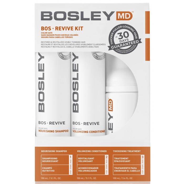 Косметика для мамы Bosley MD Система от выпадения и для стимуляции роста для окрашенных волос