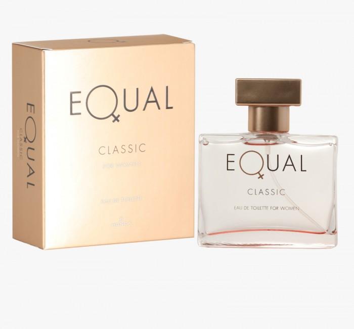 косметика для мамы Косметика для мамы Hunca Туалетная вода для женщин Equal Classic 75 мл