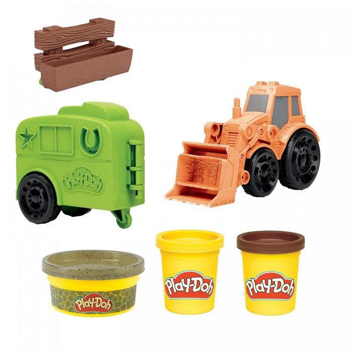 Play-Doh Набор для лепки Фермерский трактор