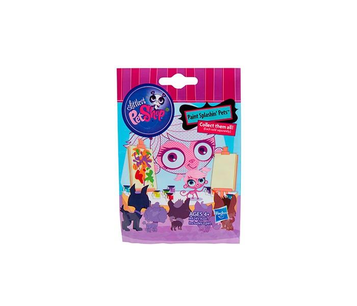 Игровые фигурки Littlest Pet Shop Hasbro Фигурка Зверюшка в закрытом пакетике littlest pet shop фигурка мялка цвет оранжевый