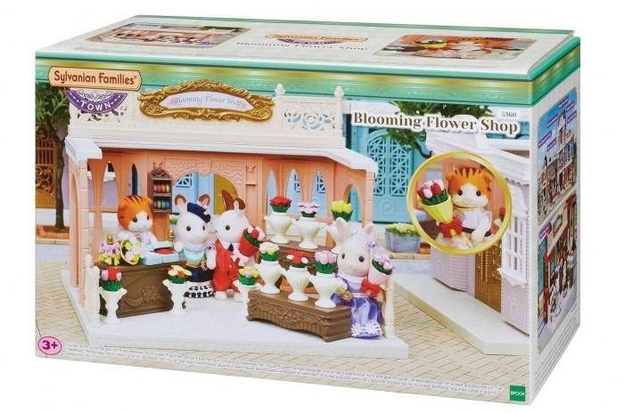 Купить Кукольные домики и мебель, Sylvanian Families Игровой набор Магазин дивных цветов