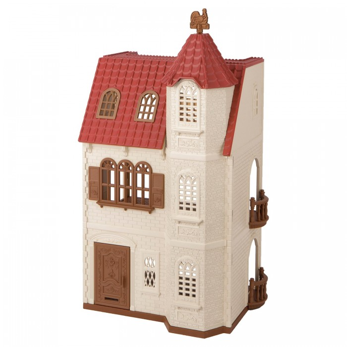 Кукольные домики и мебель Sylvanian Families Набор Трехэтажный дом с флюгелем