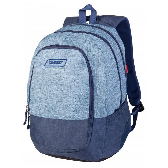 Купить Школьные рюкзаки, Target Collection Рюкзак Duel Blue Melange 3 zip