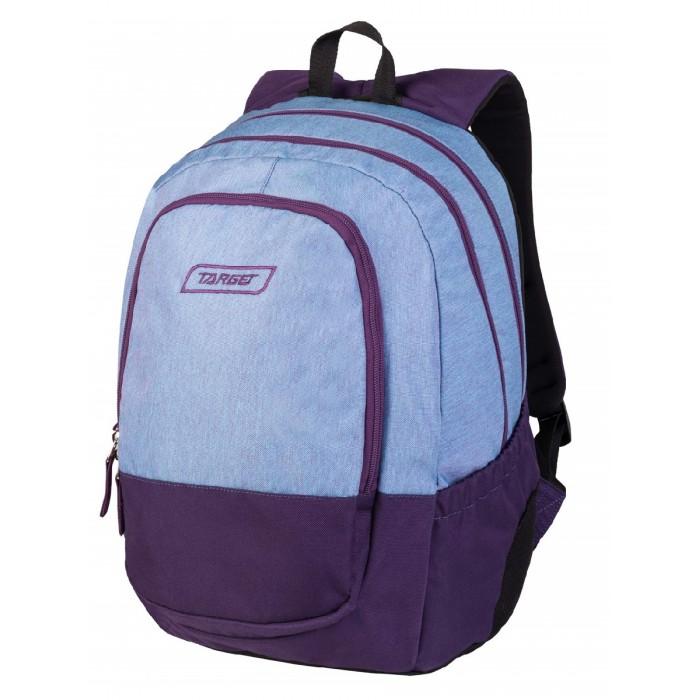 Купить Школьные рюкзаки, Target Collection Рюкзак Duel Violet Melange 3 zip