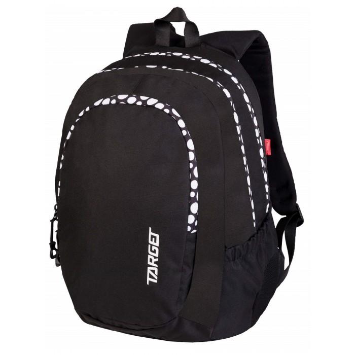 Купить Школьные рюкзаки, Target Collection Рюкзак Duel Black Dots 3 zip