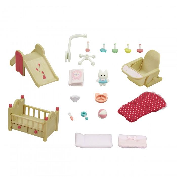аксессуары для детской комнаты Кукольные домики и мебель Sylvanian Families Мебель для детской комнаты
