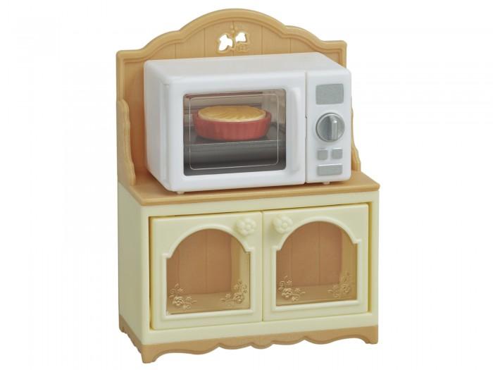 Купить Кукольные домики и мебель, Sylvanian Families Набор Шкаф с микроволновой печью