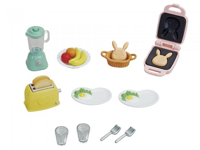 Купить Кукольные домики и мебель, Sylvanian Families Набор Домашний завтрак