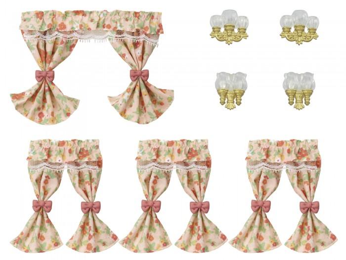 Купить Кукольные домики и мебель, Sylvanian Families Набор Шторы и лампы