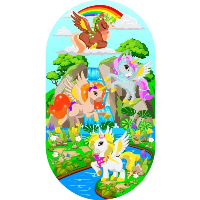 Коврики для купания Pondo Kids для ванны Единорожки 69х39 см недорого