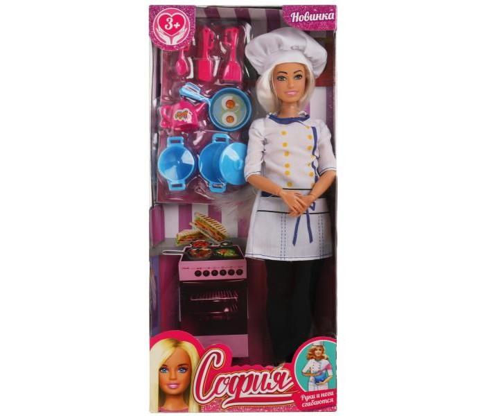 Фото - Куклы и одежда для кукол Карапуз Кукла София повар 29 см куклы и одежда для кукол карапуз кукла принцесса софия 46 см 14666pri ru