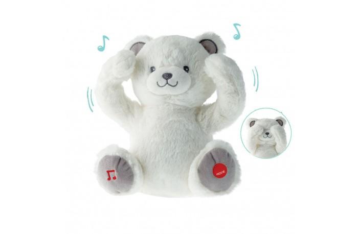 Электронные игрушки Shokid Медвежонок Гастон плюшевый с Try Me 31 см