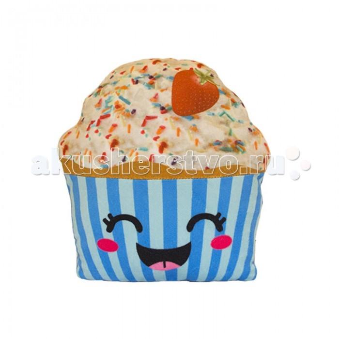 Мягкие игрушки Button Blue Вкусняшки Капкейк-счастливый обычная кроватка счастливый малыш 008 дюймовочка тик