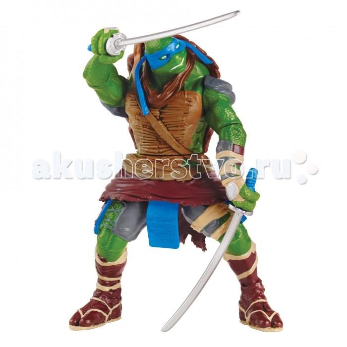 Игровые фигурки Turtles Фигурка Черепашки-ниндзя Леонардо Movie Line 14 см фигурка леонардо с секретным приемом черепашки ниндзя