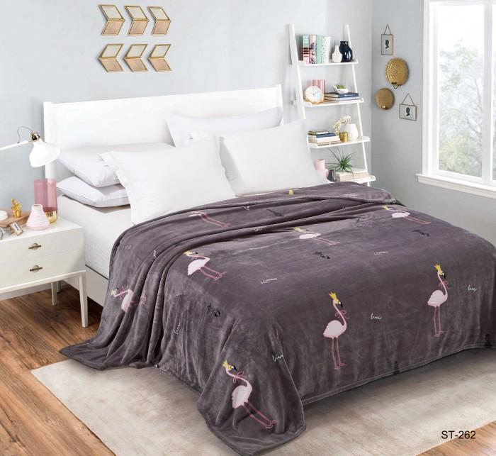 Купить Пледы, Плед Dream Time Велсофт 1.5 спальный 200х150 BL0424-1