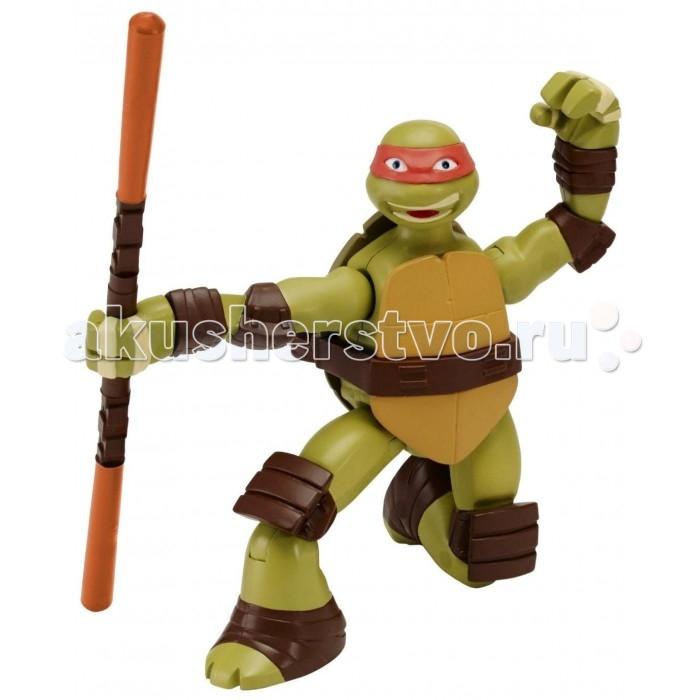 Игровые фигурки Turtles Фигурка Черепашки-ниндзя Суперповорот Майки 15 см майки