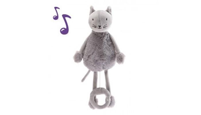Купить Мягкие игрушки, Мягкая игрушка Shokid Кот плюшевый Oscar 28 см