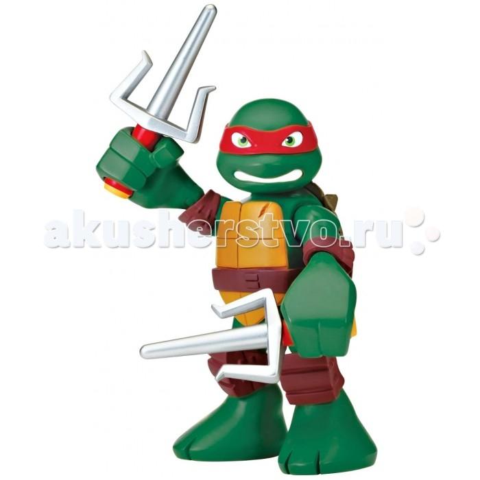 Игровые фигурки Turtles Говорящая фигурка Черепашки-ниндзя Рафаэль Half Shell Hero 15 см игровые фигурки turtles машинка черепашки ниндзя 7 см сплинтер на атаке сенсея