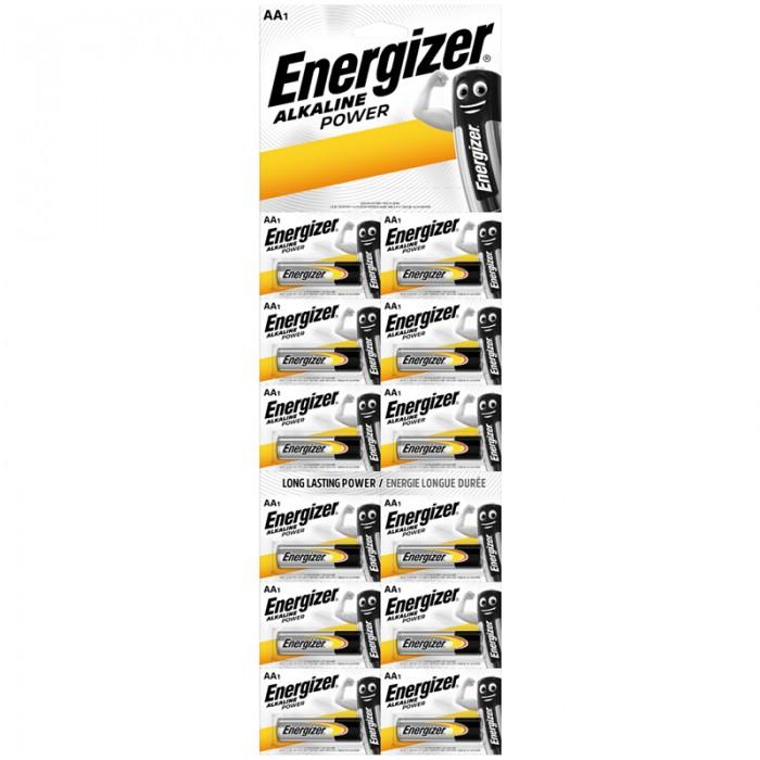 Батарейки, удлинители и переходники Energizer Батарейка Power АА (LR06) алкалиновая 12BL