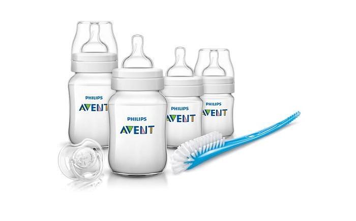 Аксессуары для кормления , Наборы для кормления Philips Avent Набор для новорожденных Classic + арт: 113263 -  Наборы для кормления