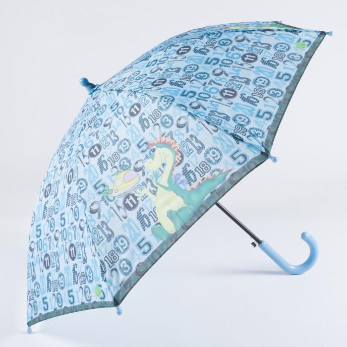 Зонт Goroshek детский трость, полуавтомат Цифры