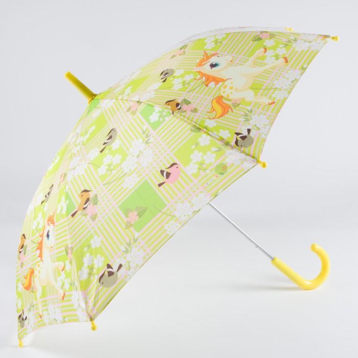Зонт Goroshek детский трость, механика Единорог