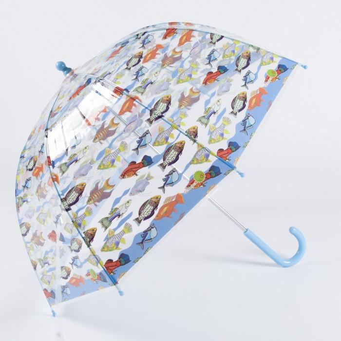 Зонт Goroshek детский трость, механика Аквариум