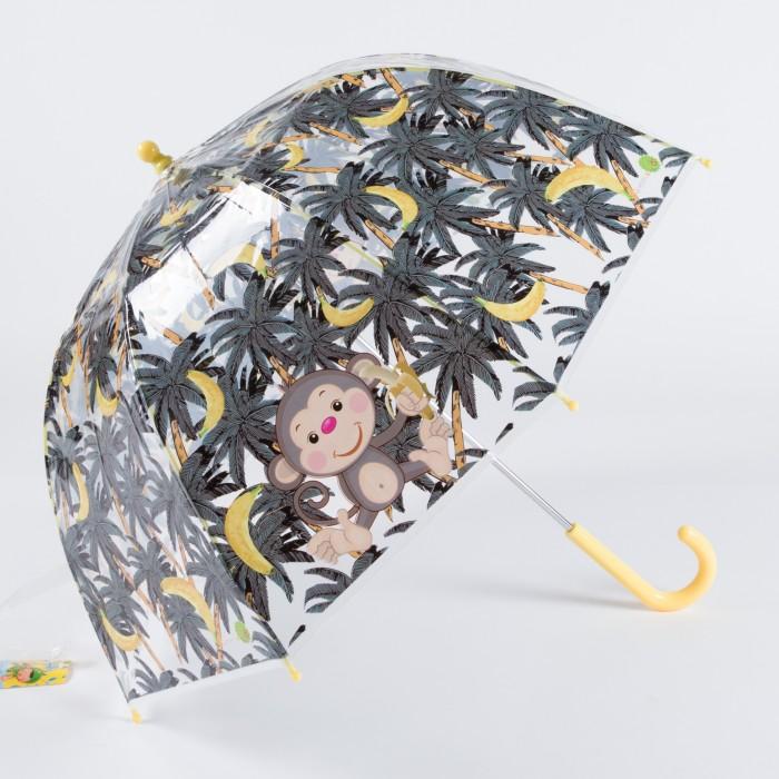 Зонт Goroshek детский трость, механика Бананы