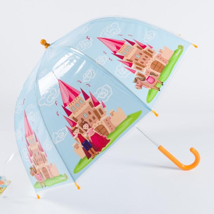 Зонт Goroshek детский трость, механика Сказочный замок