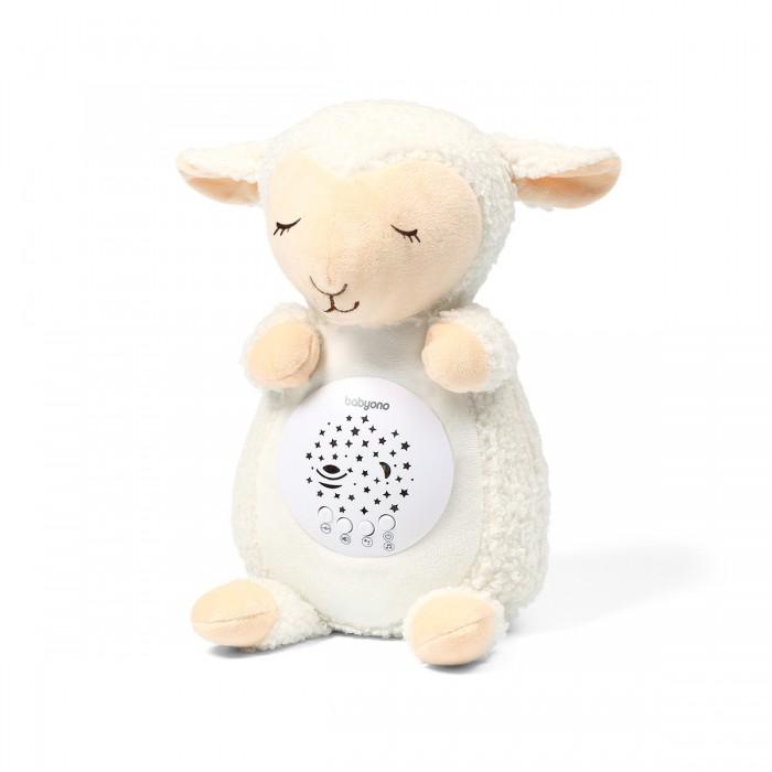 Купить Ночники, BabyOno Игрушка-ночник с проектором и музыкой Овечка