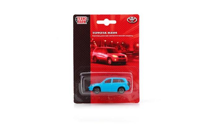 Машины Технопарк Машина металлическая Toyota RAV 4 TOP608B