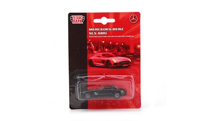 Машины Технопарк Машина металлическая Mercedes-benz sls amg TOP604B welly 84002 велли радиоуправляемая модель машины 1 24 mercedes benz sls amg