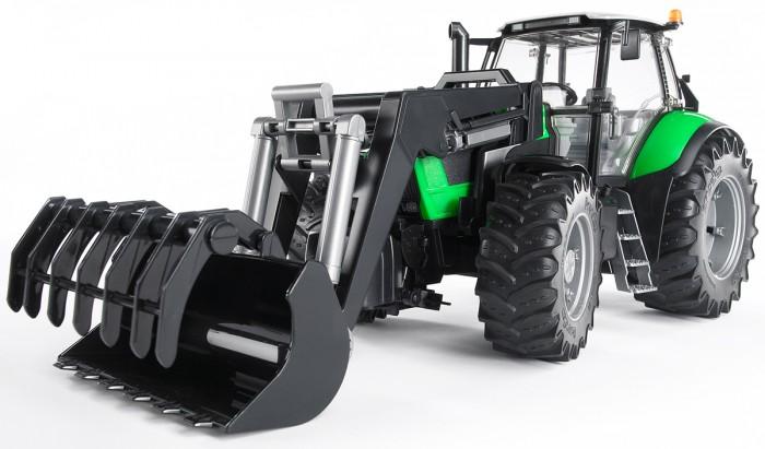 Фото - Машины Bruder Трактор Deutz Agrotron X720 с погрузчиком fcr 02