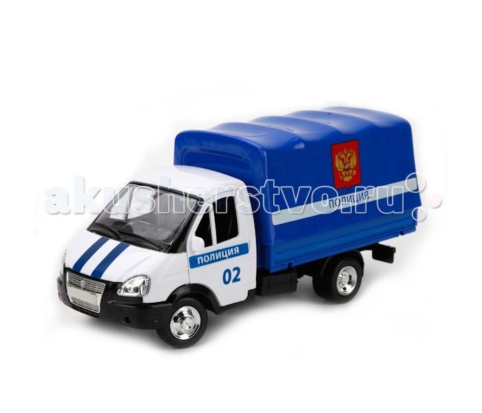 Машины Технопарк Машина металлическая инерционная Газель Полиция Z560-H11006-R гтц на газель бизнес