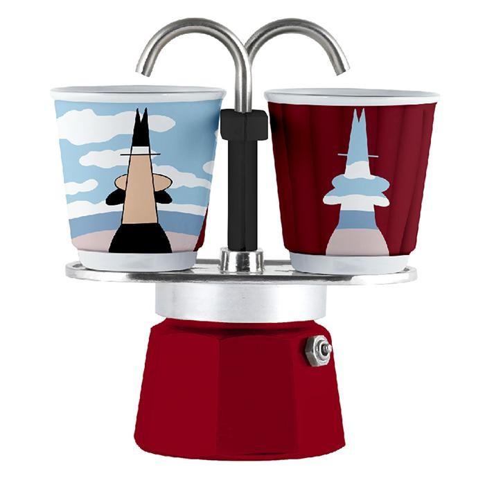 Бытовая техника Bialetti Гейзерная кофеварка Мини Экспресс Magrite 2 порции и 2 чашки