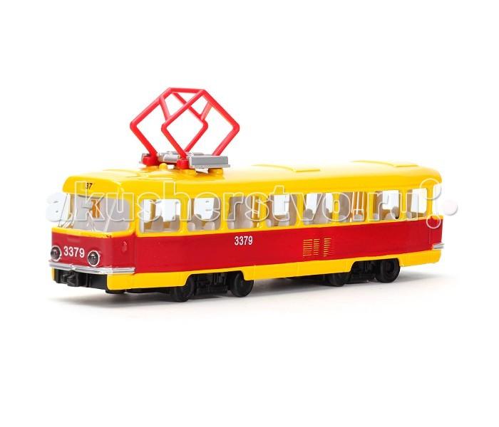 Машины Технопарк Трамвай X600-H36002-R технопарк трамвай