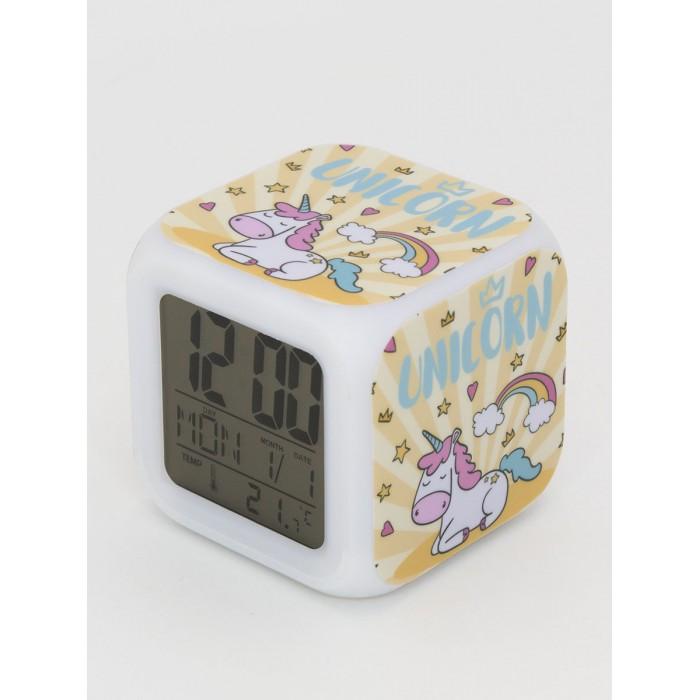 Картинка для Часы Mihi Mihi будильник Единорог с подсветкой №28