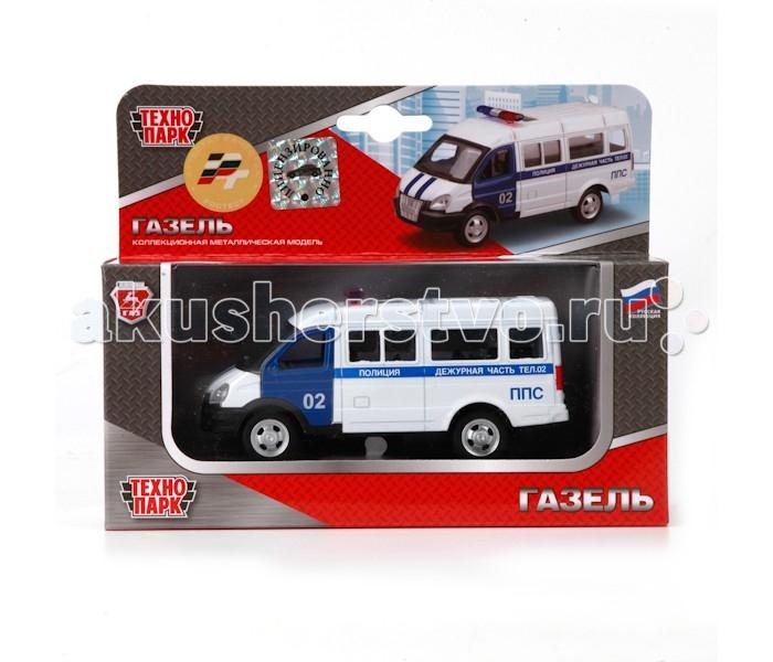 Машины Технопарк Машина Газель Полиция X600-H09035-R гтц на газель бизнес