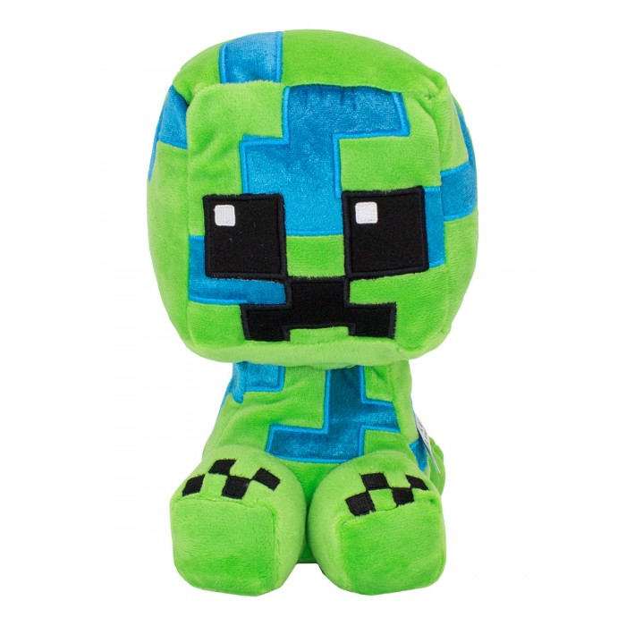 Мягкая игрушка Minecraft Crafter Charged Creeper 23 см