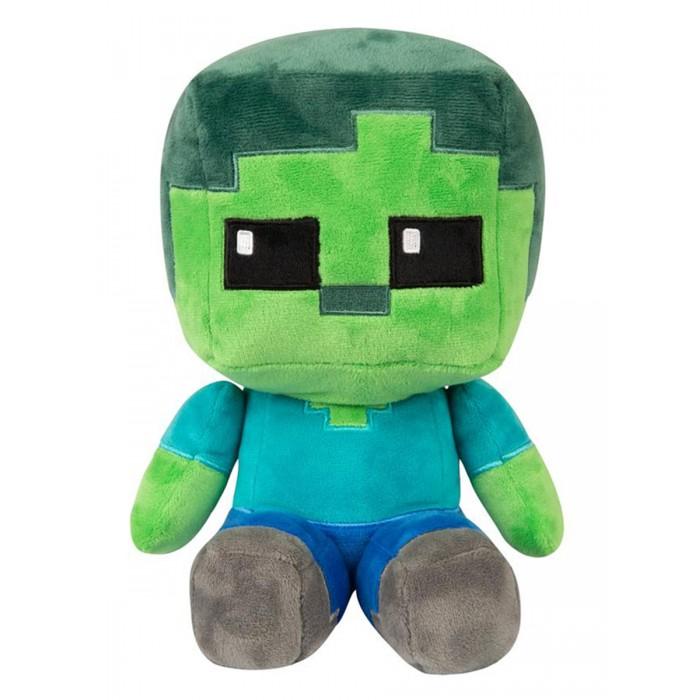 Мягкая игрушка Minecraft Crafter Zombie 22 см