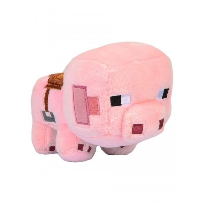 Картинка для Мягкие игрушки Minecraft Happy Explorer Saddled Pig 16 см