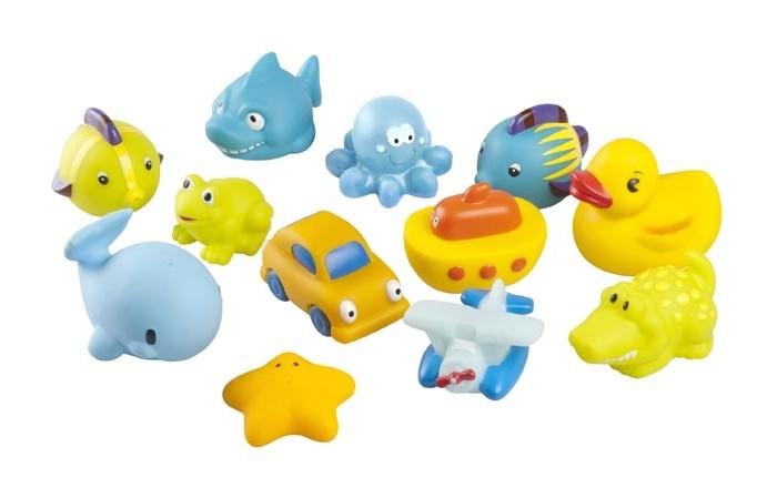 Игрушки для ванны Babymoov Игрушка для ванны А104920 12 шт. игрушки для ванны munchkin игрушка для ванны пингвин пловец