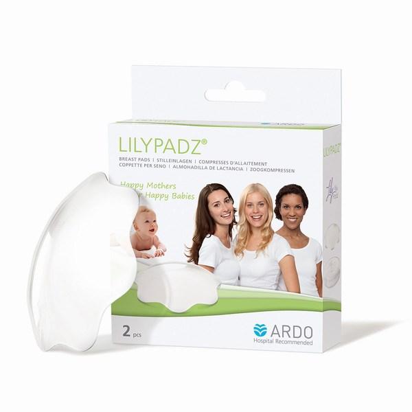 Ardo Накладки на грудь не пропускающие влагу Lily Pads 2 шт.