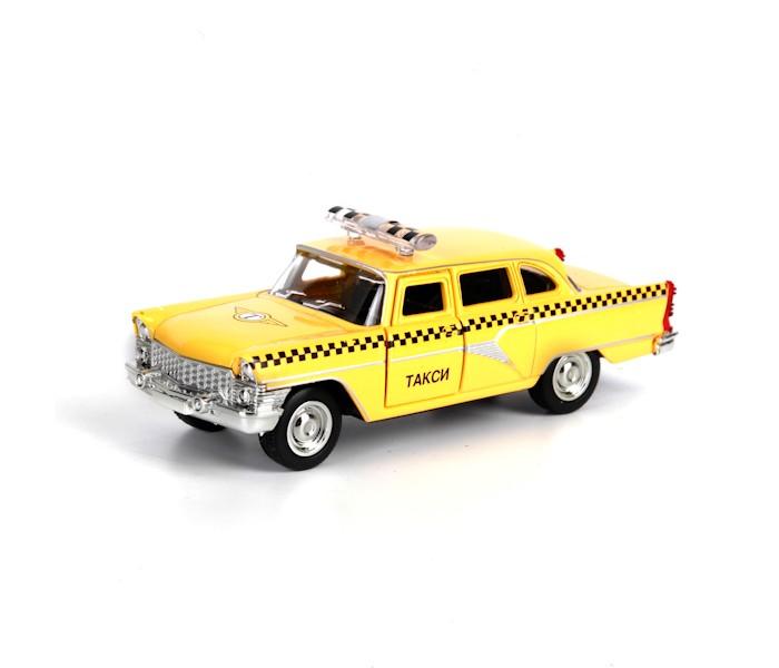Машины Технопарк Машина Газ Чайка такси автомобиль технопарк волга газ 21 металлическая инерционная x600 h09039