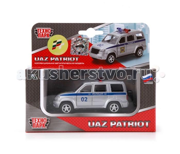 Машины Технопарк Машина Уаз Патриот Полиция X600-H09029-R инструкция к уаз патриот где в спб