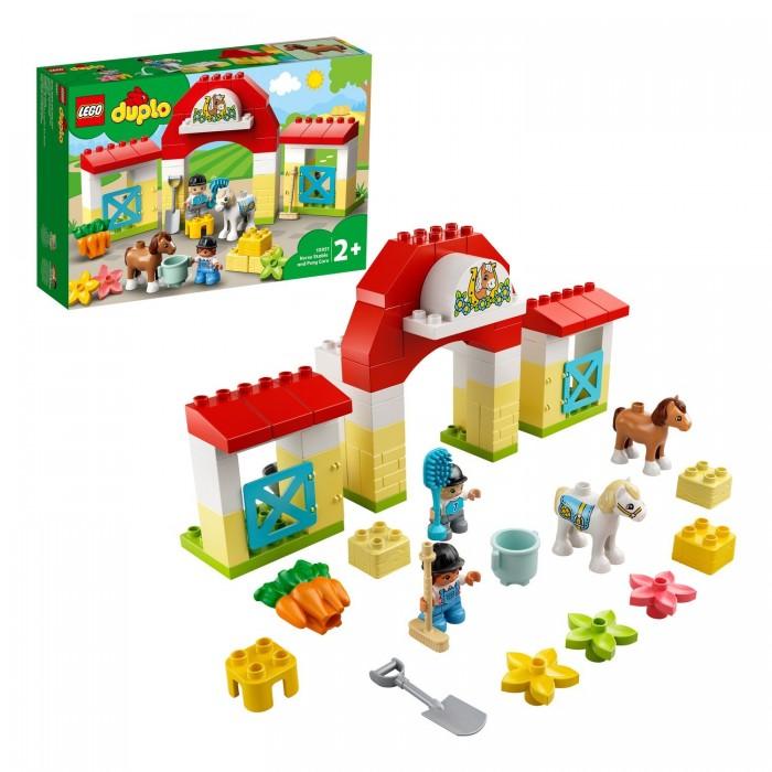 Купить Конструктор Lego Duplo 10951 Лего Дупло Конюшня для лошади и пони